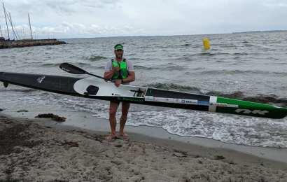 Gordan Habrecht startet beim Atlantic Ocean Surfski Lanzarote World Cup 2020
