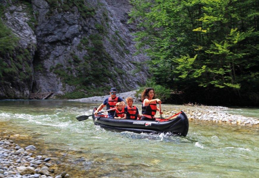 Grabner ADVENTURE – der ideale Reise-Kanadier
