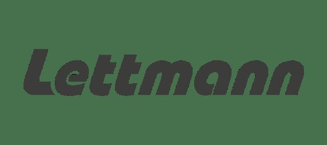 Das Lettmann Logo in dunkelgrau.