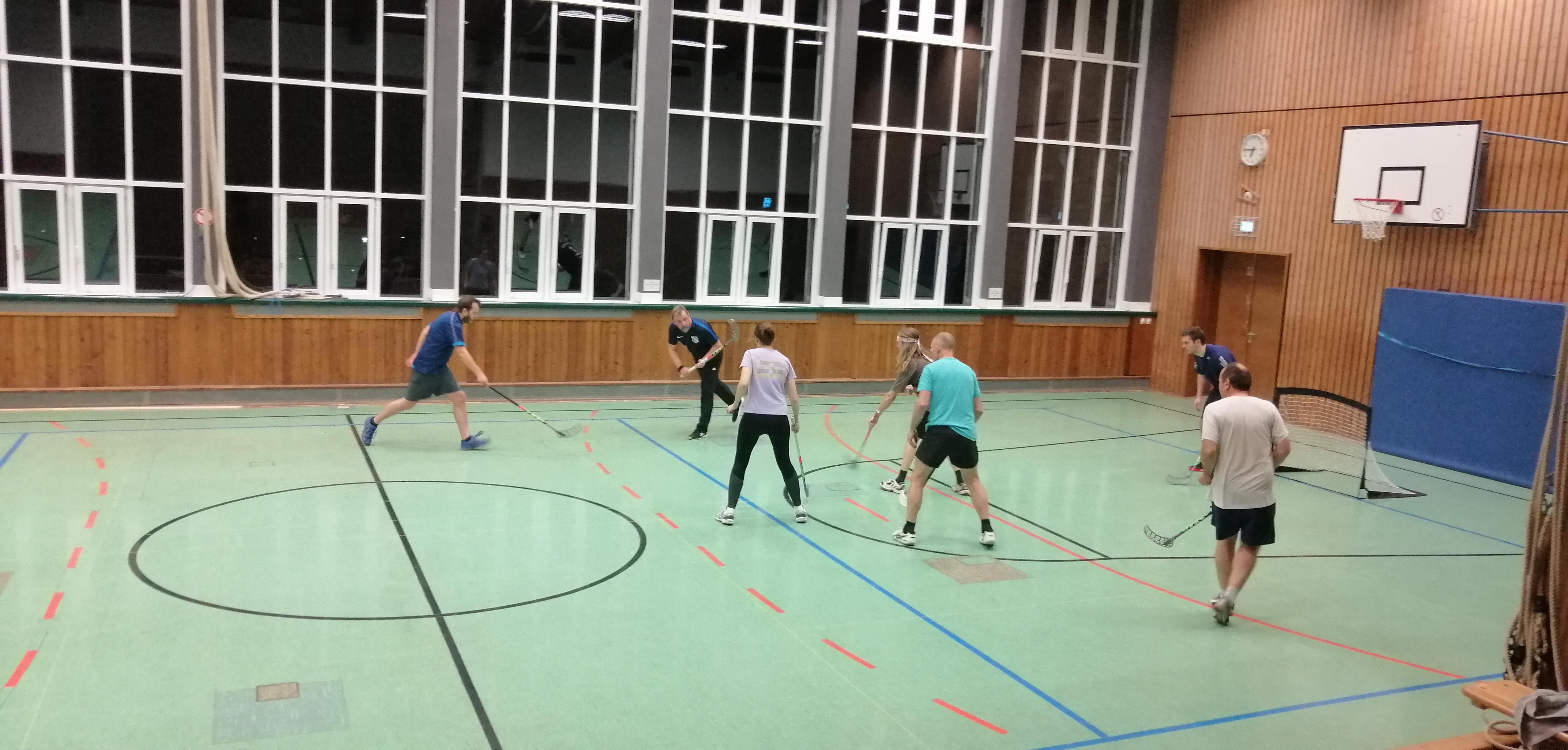 Unihockey am Warteberg
