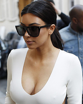 Kardashian sister hasn't left much to the imagination.