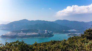Tai Tam harbour and reservoir