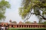 West Gate in the bazaar area