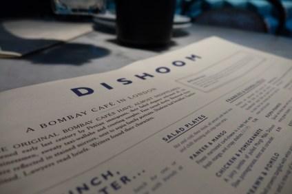 Dishoom menu