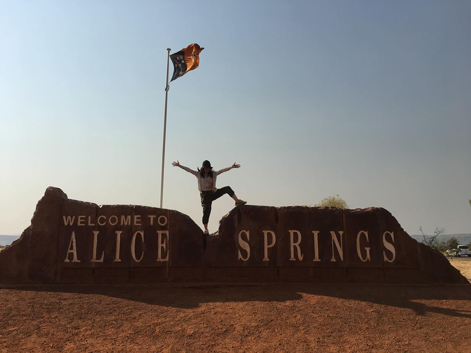 See you Alice Springs!!!! さようなら〜アリススプリングス!