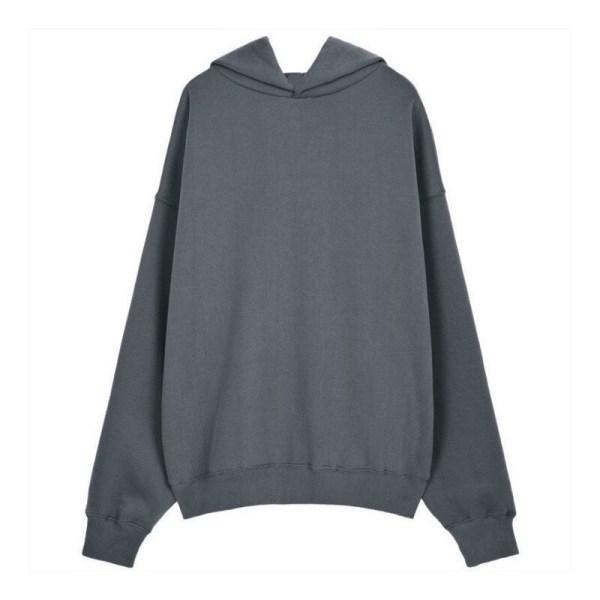 kanye west oversize fleece hoodie