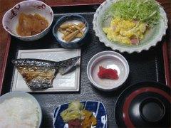 朝食@余目ホテル