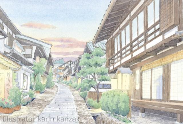 馬籠宿(岐阜県)