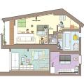 住宅断面図