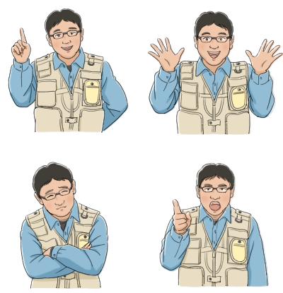 キャラクターデザイン イラストレーター