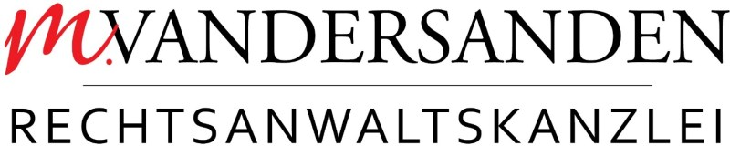 Logo der Rechtsanwaltskanzlei Marie Vandersanden