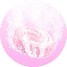 湯の色:ハニーピンク (透明タイプ)