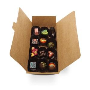 boite 12 chocolats fins kao chocolat