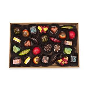 boite 28 chocolats fins kao chocolat