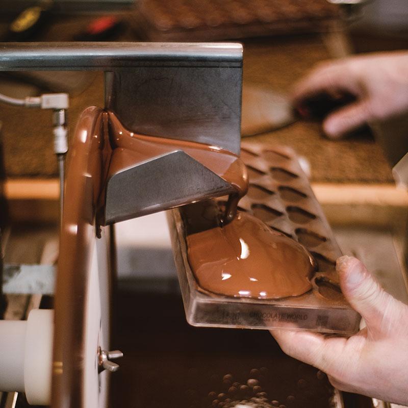 Étape 6 fermeture KAO CHOCOLAT