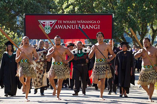 Te Whare Wananga o Awanuiarangi celebrating the achievements of its graduating students – Coutesy of Te Whare WNanga O AwanuiRangi University