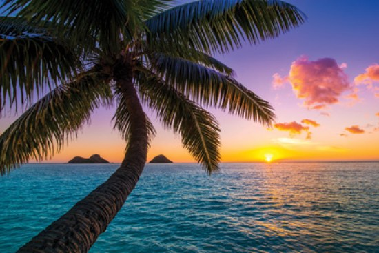 Spencer Lum captures a beautiful sunrise at world famous Lanikai Beach Courtesy of Spencer Lum