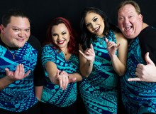 The musical group Kapena will be one of the headliners at Ho'olaule'a - Courtesy of Kapena