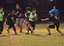 Justin Paz juked out a few defenders during a game - Leighland Tagawa