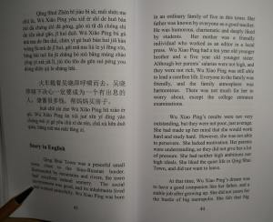 HSK Chinese Graded Reader - The New Housekeeper - English translation