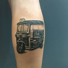 tattoo tatouage thai tuktuk