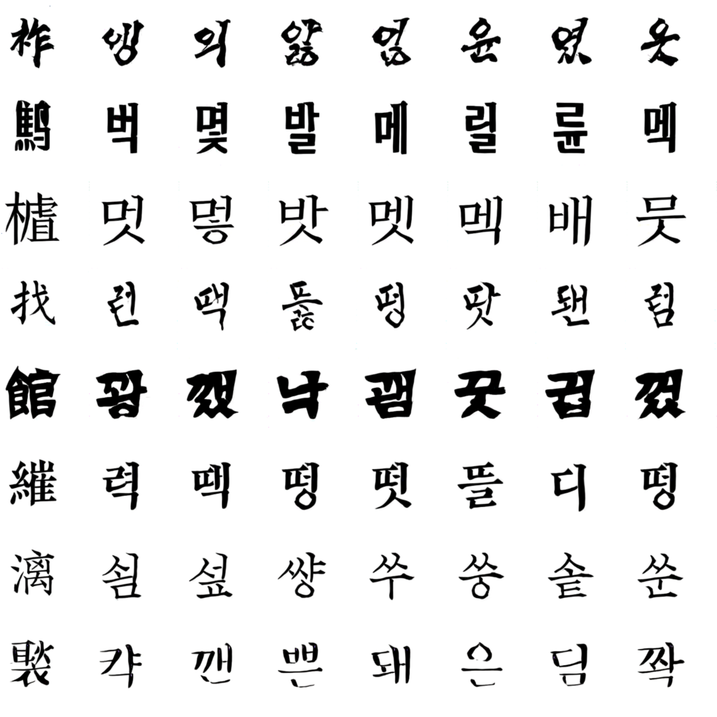 Zi2zi Master Chinese Calligraphy With Conditional