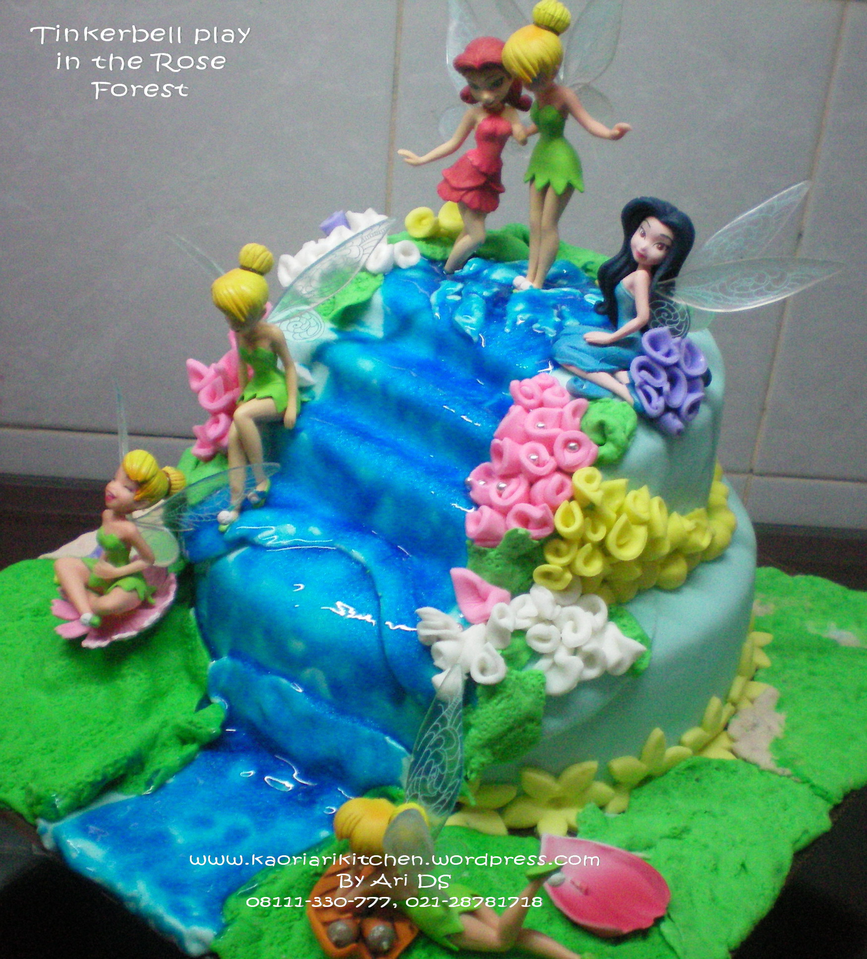 New Tinker Bell Cake Ideas And Designs