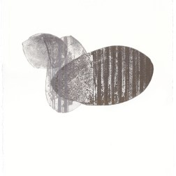 Flowing-曲水の宴 III Etching・ Aquatint・Aluminum plate エッチング・アクアチント・アルミプレート image size H33cmxW25cm ed.20 2017