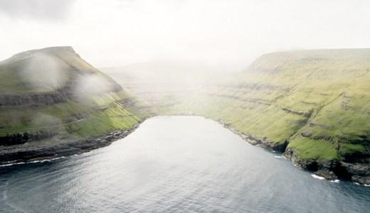 フェロー諸島の島々の姿