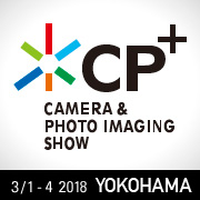 I will speak on the CP+ 2018.