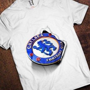 Kaos Chelsea Logo 3D