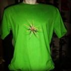 Kaos SPIDER 3D Hijau