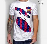 Kaos Barcelona Jersey 3 Dimensi