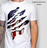 Kaos Captain America Claws White