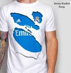 Kaos Madrid Away Jersey 3D