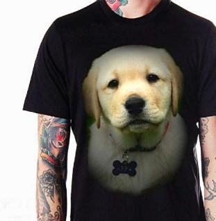 kaos gambar puppy, anak anjing lucu, pecinta anjing, dog lover, puppies