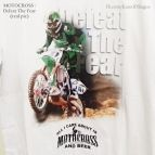 Motocross - Defeat The Fear White