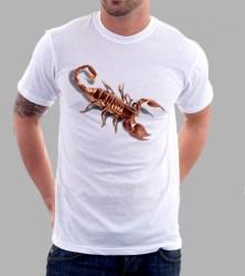 Kaos Kalajengking 3D, Scorpio 3D T-Shirt