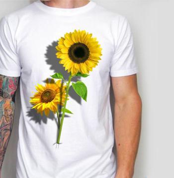 Sun Flower 3D T-Shirt