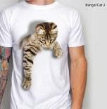 Bengal Cat, Cat Lover Tshirt, Kaos KUCING, Kaos Kucing Lucu, Kaos3D
