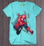 Spiderman Hangin Blue