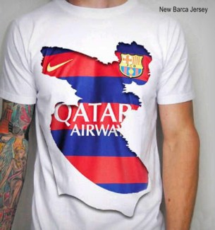 Barca NEW Jersey Home 2015