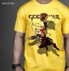 God Of War Yellow