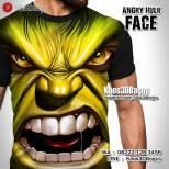Kaos SUPERHERO, Hulk, Kaos Gambar HULK, The Avengers Tshirt, Kaos3DBagus