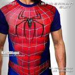 Kaos SPIDERMAN SUIT, Karakter Spiderman, Kaos Film Spiderman