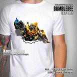 Kaos ANAK Bumblebee, Kaos Film Transformers, Kaos Robot Film Transformers, Kaos3D, Bumblebee Half Body