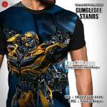 Kaos Film Transformers, Kaos Karakter Transformer, Kaos3D Bumblebee, Kaos Robot Transformers