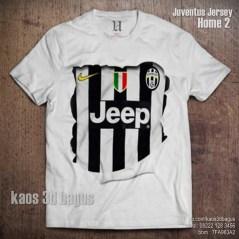 Kaos 3D Juventus Jersey HOME 2 - Grosir Kaos 3D Keren