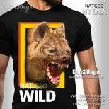 Kaos ANIMAL, Kaos 3D, Kaos Distro, HYENA, National Geographic