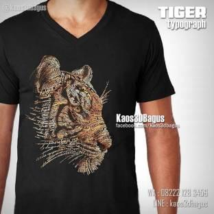 Kaos Kepala Harimau, Kaos 3D TIGER, Kaos Macan, http://instagram.com/kaos3dbagus, WA : 08222 128 3456, LINE : kaos3dbagus